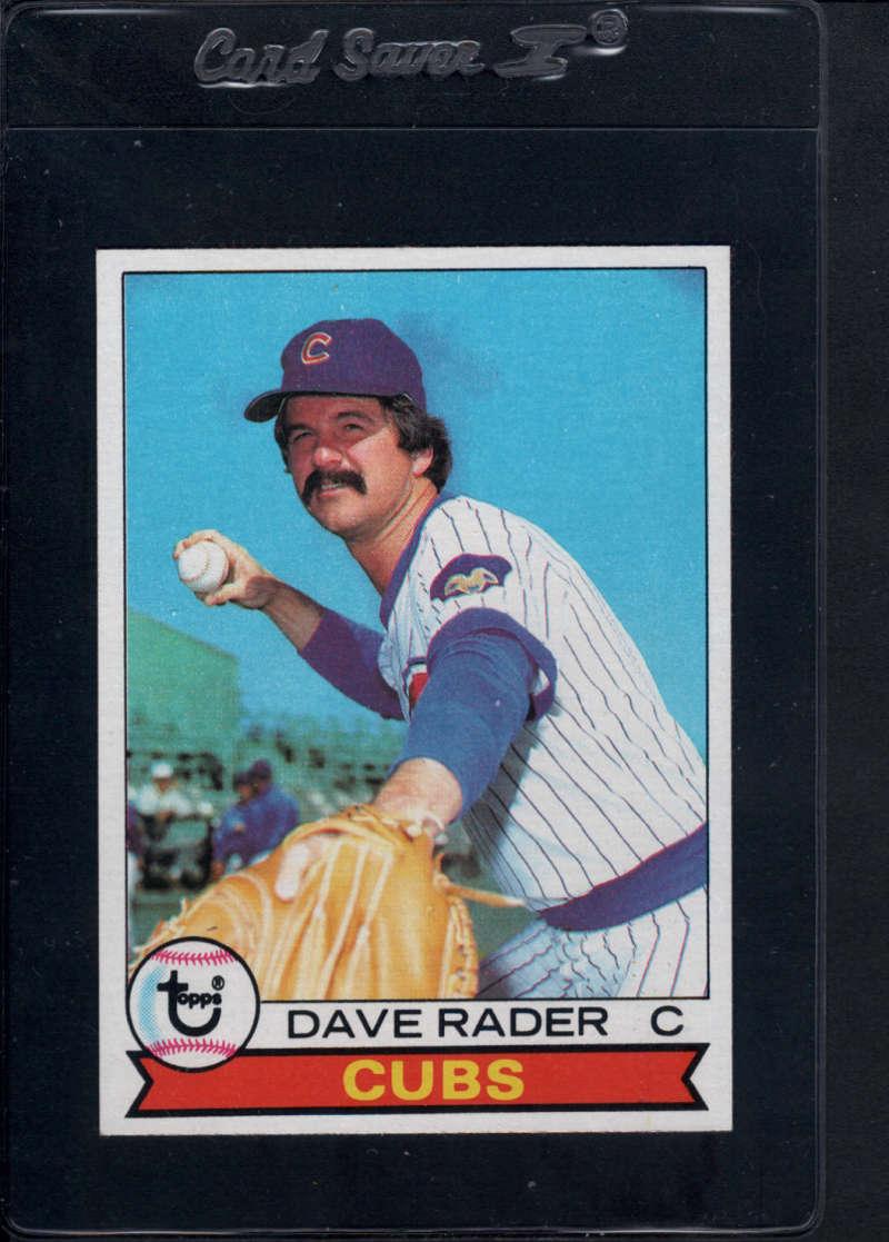 1979 Topps #693 Dave Rader Chicago Cubs
